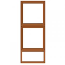WINDOW ALU TOP HUNG PTT615...