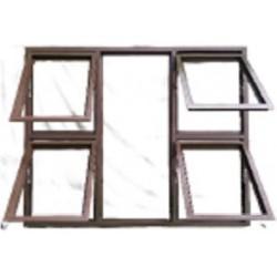 WINDOW ALU TOP HUNG P4T1512BRZ
