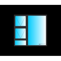 WINDOW ALU TOP HUNG PTT1515BRZ