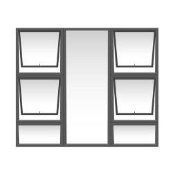 WINDOW ALU TOP HUNG...