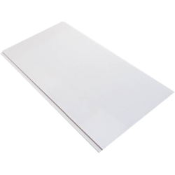 PVC PANEL GLOSS WHITE 6MM 30CM