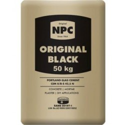 CEMENT NPC BLACK 50KG