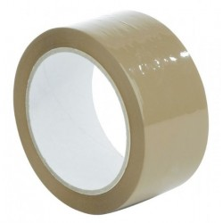 BUFF TAPE BROWN 48MMX50M